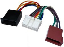 Adaptateur faisceau câble ISO autoradio pour Hyundai Excel H-1 H100 Sonata
