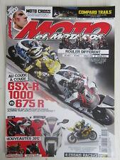 MOTO et MOTARDS N°152 / GSX-R 1000 - 675 R / Street fighter 848 / Brutale 1090 R