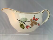 Alfred Meakin Greenwood Jug Rosehips and Acorns Sauce Cream Floral Gravy Boat