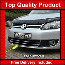VW CADDY 2010-2015 LOWER 3 PIECE FRONT GRILLE STAINLESS STEEL GRILL CHROME TRIM