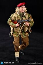 did dragon action figure ww11 british paratrooper roy 1/6 12'' boxed  cyber hot
