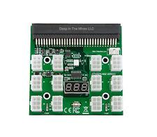 HP 1200w/750w Breakout Board for GPU Open Rig Mining Ethereum, ZEC ZCASH ETH