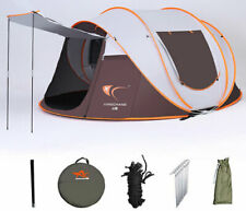 5-6 Person Full Automatic Setup Free Anti Hard Rain Camping Hiking Outdoor Tent