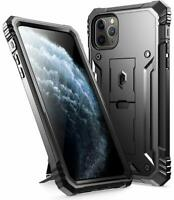 iPhone 11 11 Pro 11 Pro Max Cover Poetic® Military Shockproof Kickstand Case