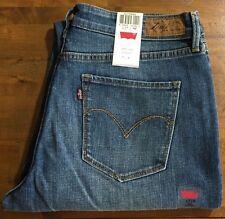 LEVI'S CURVE ID DEMI CURVE Straight Leg Jeans - Women's 12 Medium NWT
