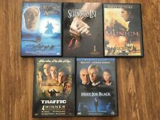 Lot of 5 classic Dvds. Includes Schindler's List and Munich