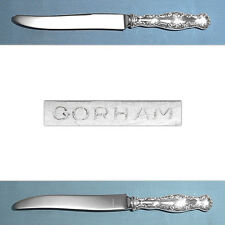 ~ LOUIS XV ~ MONO LAB S WHITING MFG STERLING FLAT HANDLE BUTTER SPREADER
