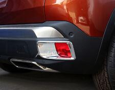 ABS Hinten Nebelleuchten Abdeckleiste 2 Stück für Peugeot 3008 2016 - 2019
