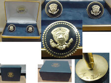 Pair of new Presidentail Helicopter Squadron cufflinks    HMX-1 no signature