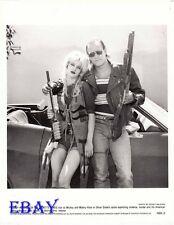Woody Harrelson w/guns Juliette Lewis VINTAGE Photo Natural Born Killers