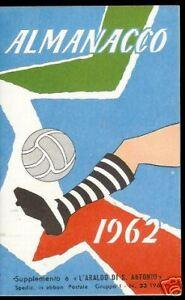 ALMANACCO CALCISTICO 1961-1962