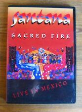 DVD SANTANA - SACRED FIRE - LIVE IN MEXICO