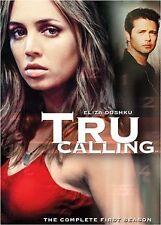 Brand New DVD Tru Calling: The Complete First Season (2003) Eliza Dushku Reg 1
