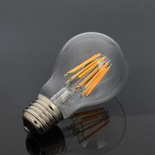 16W Warm White E27 Retro A60 Edison Filament COB LED Bulb Chandelier Glass 220V