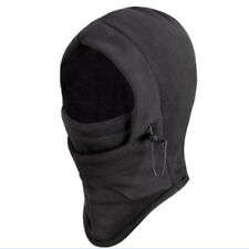 2018 Outdoor Motorcycle Full Face Mask Balaclava Neck Protection Black Good