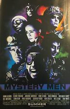 Mystery Men Movie Promotional Advertisement 1999 (Ben Stiller, Hank Azaria)