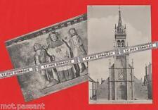 2 CPA-29 HUELGOAT - L'Eglise d'Huelgoat. Statue de Saint Yves. (XVIe siècle)