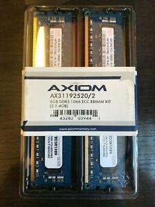 Axiom Upgrades AX31192520/2 (2 x 4GB) 8GB DDR3-1066 ECC RDIMM KIT