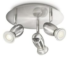 Philips 55693/17/PN Chestnut 3 Light Spotlight