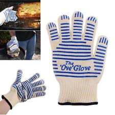 540°F Heat Resistant Proof Cooking Oven Mitt Glove Hot Surface Handler Kitchen