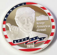 Donald Trump President of the United States 2020 Star Challenge Coin (non NYPD)