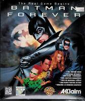 PC Big Box CD-ROM Game Batman Forever 1995 Akklaim Acclaim Probe NIB NOS