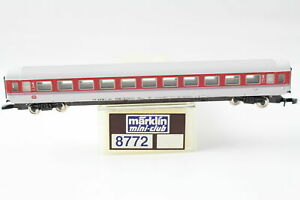 8772 Ic High Capacity Car 1.Klasse Märklin Mini Club Z Gauge Boxed + Top+