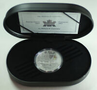 2002 Canada William D. Lawrence Ship $20 Silver Proof Coin Hologram w/ Box COA