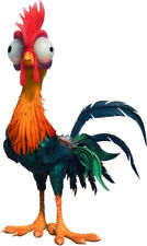 HEIHEI The ROOSTER Wild Bird of Disney's MOANA movie - WindoCling Stick-On Decal