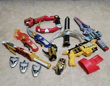 Power Rangers Weapons Lot - 13 Items - MMPR - Nice Shape!