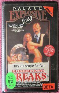 Bloodsucking Freaks VIDEO COVER- Beta variant