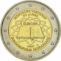 2 Euros Commémorative Allemagne 2017 - Traité de Rome - UNC