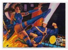 1994 Fleer Ultra X-Men Portrait ( 2 of 9 ) Piylocke / Cyclops