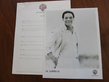 Al Jarreau Press kit and 8x10 photo 5 pgs