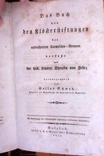 1832 Klosterstiftungen unbeschuhten Carmeliten-Nonnen Mutter Theresia Karmeliten