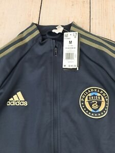 Adidas Men's Philadelphia Union Anthem Jacket FI1442 Medium NWT $85