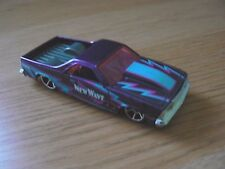 Hot Wheels  80' CHEVY CHEVROLET EL CAMINO pickup truck New Wave purple 1:64 mint