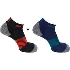 Salomon Speed Running Socks TWIN PACK Choice of Size and Colours
