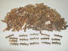 Vtg Jewlery Findings---Multi Strand Ends/Necklace--4 Hole--300 Pcs--Goldtone