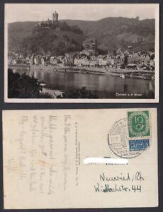 Ansichtskarte Cochem an der Mosel Sonderstempel Traben-Trabach