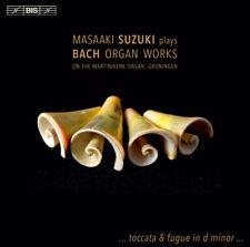 Masaaki Suzuki : Masaaki Suzuki Plays Bach Organ Works CD (2015) ***NEW***