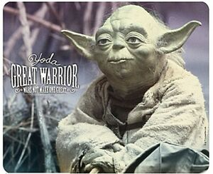 Star Wars Yoda Great Warrior Computer Mouse Mat (aby)