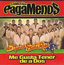 Los Nuevos Santa Rosa Me Gusta Tener De A Dos CD New Sin Sello De Plastico
