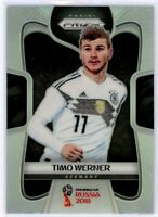 TIMO WERNER 2018 Panini Prizm World Cup SILVER Refractor Rookie Card RC #98