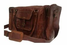 Men's Leather Soft Travel Bags & Hand Luggage