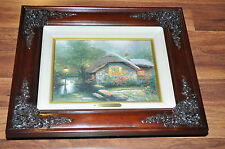 Thomas Kinkade Collectors Cottage I Canvas Society Members Lithograph Print AP ?