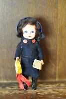 Fabulous RARE VINTAGE Costume Doll of a SALVATION ARMY Woman - 17cm Tall