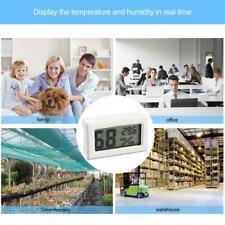 Digital Humidity Meter Lcd Thermometer Hygrometer Vivarium Reptile Lizard Y6V0