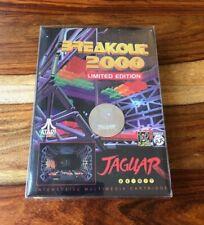 Breakout 2000 Limited Edition Atari Jaguar - Telegames - NEW Complete CIB lot 2