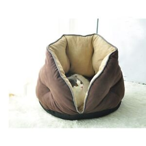 Pet House Bed Indoor for Cat Sleeping Soft Comfortable Winter Warm Pet Cushion